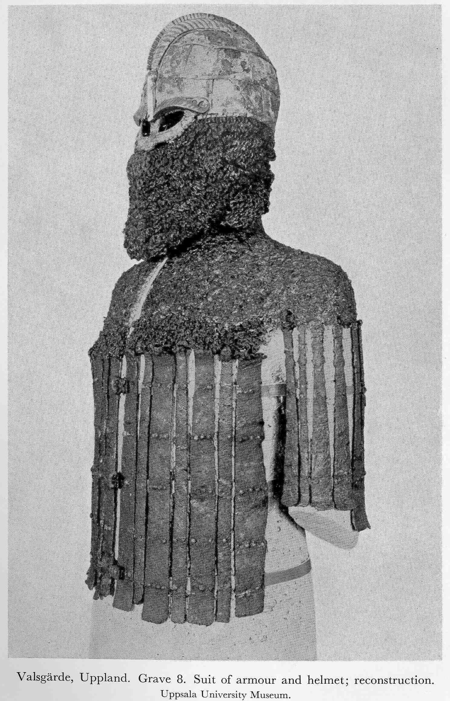 Zbroj vendelského období z hrobu Valsgärde 8   livinghistory cz